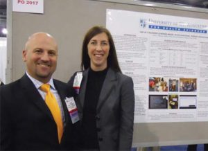 USAHS Occupational Therapy program had a strong showing at the 2011 American Occupational Therapy Association's (AOTA) conference in Philadelphia, PA.