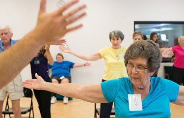 USAHS has started a new exercise program called LVST® BIG with the Saint Augustine on-capus Parkinson's Disease group