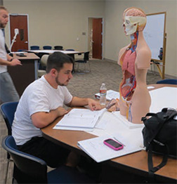 First Cohort DPT student on the USAHS Austin, TX campus