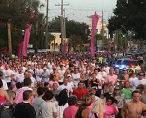 Pink up the Pace is a 5k race founded by Saint Augustine DPT alumni to contribute to breast cancer research