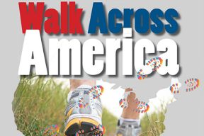 Saint Augustine staff participate in Walk Across America to promote health and wellness for all USA team members