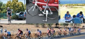 USAHS students and faculty volunteer for the L'Etape du California cycling event