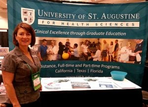 University of Saint Augustine students present at ASOA Conference