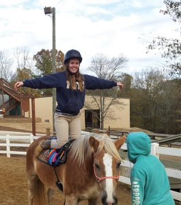Saint Augustine MOT student discusses the power of hippotherapy at an internship site and how it reaffirmed her love of OT