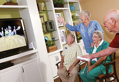 iversity of Saint Augustine EdD graduate shares how occupational therapy and Nintendo Wii has reinvigorated seniors at assisted living facilities.