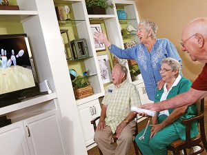 USA EdD graduate shares how occupational therapy and Nintendo Wii has reinvigorated seniors at assisted living facilities.