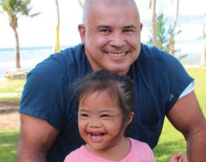 USAHS DPT graduate works as a physical therapist and rehabilitation consultant in Guam for Health Services of the Pacific