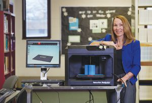 Doctoral student teaches a 3-D printing course that focuses on inventions to improve patient care while earning her EdD.