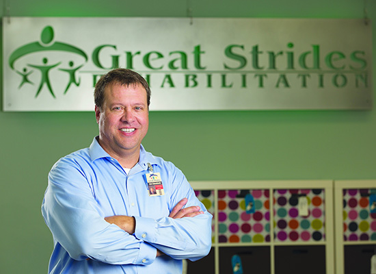 Occupational Therapist opens Great Strides a rehabilitation center for children with Autism and other special needs.