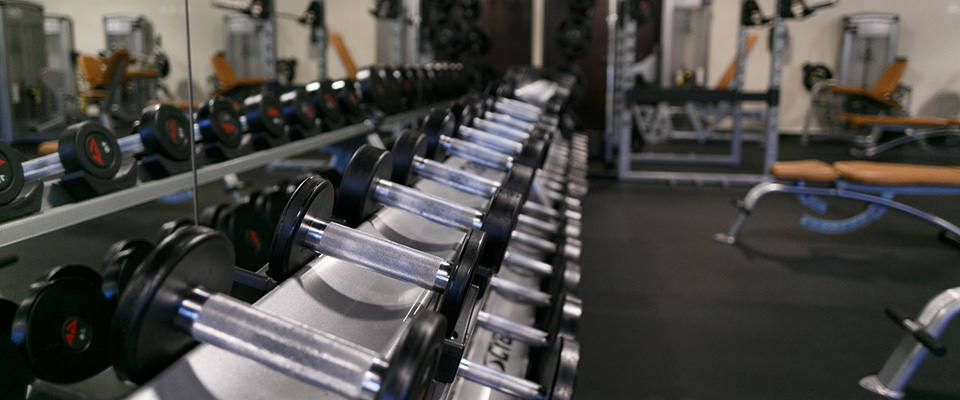 Campus Weight Room - Wellness Center