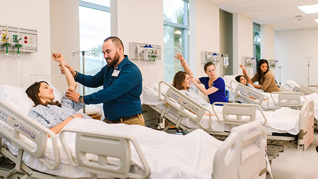 Clinical Skills Training Center for Physical Therapy, Occupational Therapy, Nursing