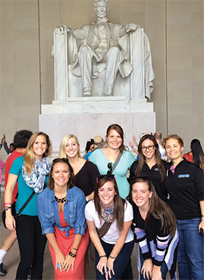 University of Saint Augustine Students attend AOTA Hill Day in Washington D.C.