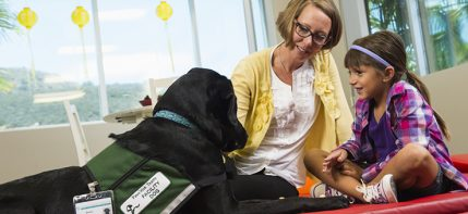 Occupational Therapy Program - Barley the Facility Dog
