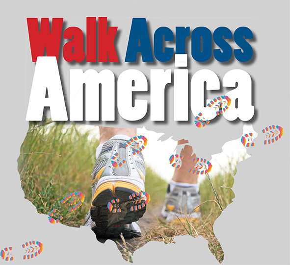 Saint Augustine faculty and staff began participating in Walk Across America to promote health and wellness for all USA team members