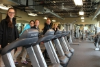 Students Enjoy Working Out at the Wellness Center in Austin, TX