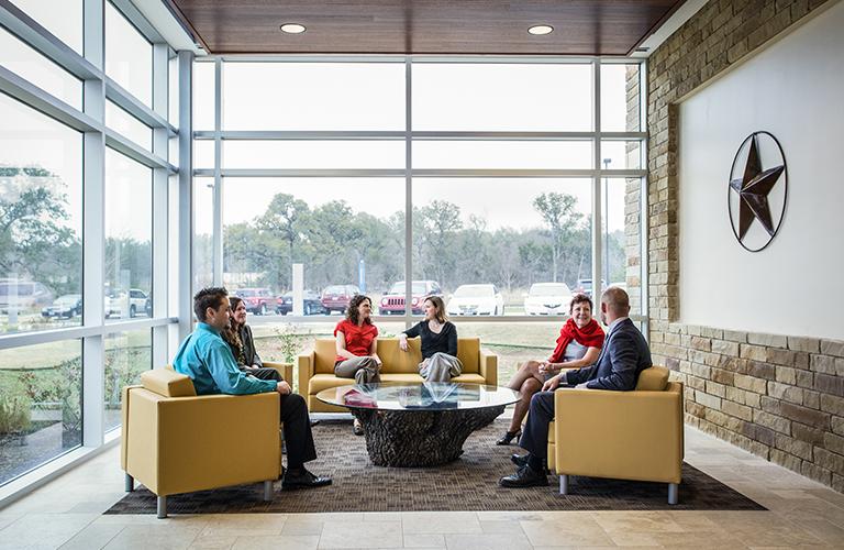 Austin, TX Campus Lobby