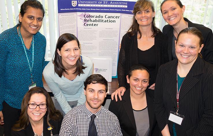 Online/Weekend MOT Students (Flex MOT) & Poster Presentation in Cancer Rehabilitation