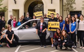 University of St. Augustine for Health Sciences Teams Up with the Occupational Therapy Association of California and the San Marcos Senior Center to Host a CarFit Event to Help Senior Drivers Stay Safe