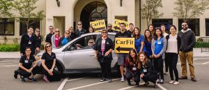 San Marcos campus Occupational Therapy students team up with OTAC and San Marcos Senior Center for Carfit event