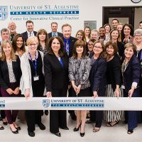 New Simulation Lab Ribbon Cutting Ceremony
