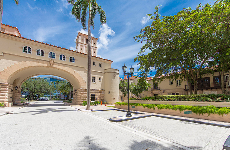 Beautiful Coral Gables, FL - Site of new USAHS Miami Campus