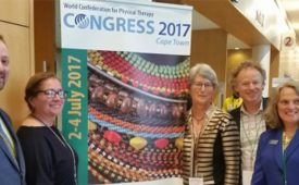 University of St. Augustine for Health Sciences Faculty Present at the World Confederation for Physical Therapy in Cape Town, South Africa