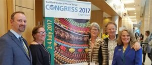 USAHS Faculty attended the World Confederation for Physical Therapy in Cape Town, South Africa