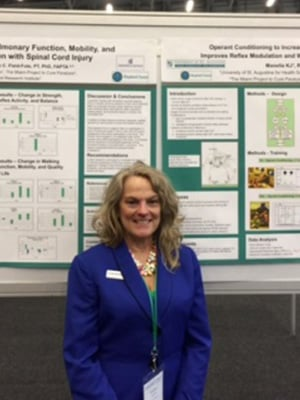 Dr. Kathleen Manella presents at the WCPT