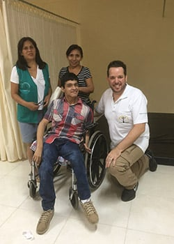 USAHS Miami campus DPT faculty member travels to Peru to teach Physical therapy and treat patients in local villages