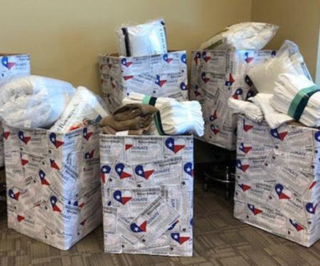 USAHS Austin campus volunteer to provide hurricane relief