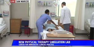 Fox 5 News Visits San Marcos Campus for Physical Therapy Month