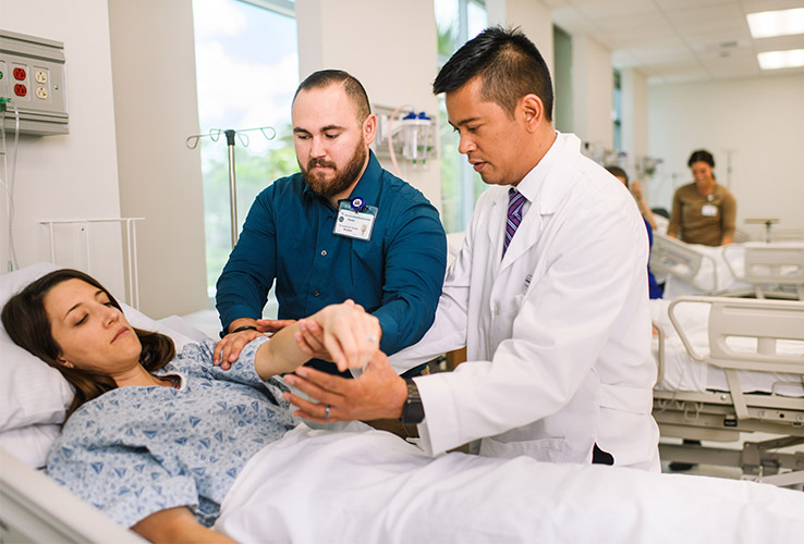 USAHS CICP is a simulation lab that mimics real-life home and clinical settings