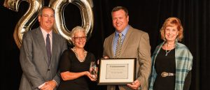 USAHS Honors Dr. Jon Edenfield with 20th Anniversary OT Professional Award