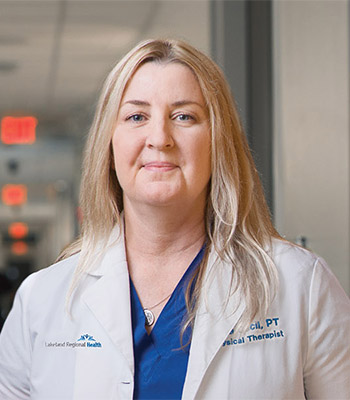 Acute care team leader and USAHS physical therapy graduate discusses her passion for providing rehabilitation to the patients in the trauma intensive care units.
