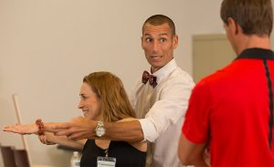 Alumnus teaches Running Rehabilitation seminars as part of the university's Continuing Professional Education offerings (CPE) for physical therapists and athletic trainers