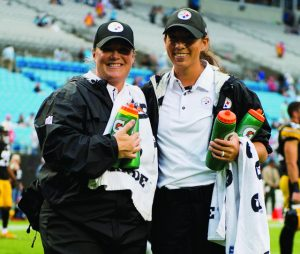 MHS Athletic Training grad shares how capstone project helped her prepare for NFL