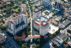 The Miami campus is centrally located close to the airport, downtown, Coconut Grove, and South Beach.
