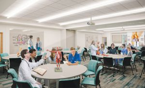 The new Miami campus includes over 55,000 sq ft. of campus space for DPT and MOT programs