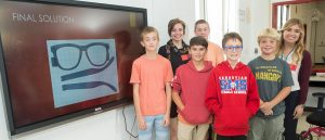 USAHS and Sebastian Middle School students create adaptive equipment and prostheses for patients