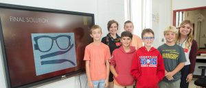 USAHS and Sebastian Middle School students create adaptive equipment and prosthesis for patients