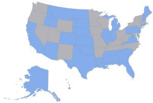 USAHS DNP approved states