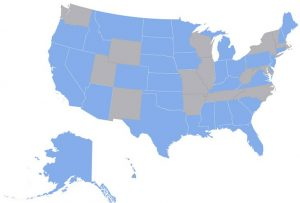 USAHS MSN Approved States