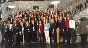 USAHS AOTA Conference attendees
