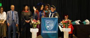 USAHS President Dr. Grossman takes oath of office