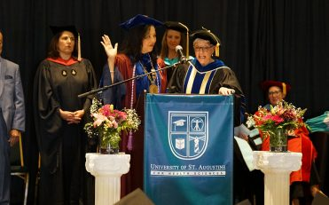 USAHS President Dr. Grossman takes oath of office