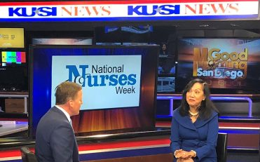 USAHS featured on KUSI Good Morning San Diego for Nurses Week