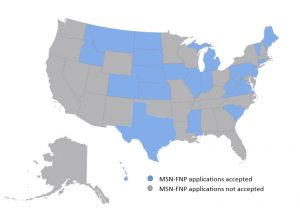 MSN-FNP Approved States