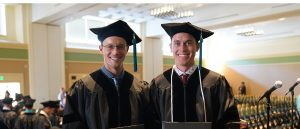 Twin Brothers Graduate USAHS DPT Program