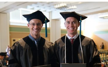 Twin Brothers Graduate USAHS DPT Program