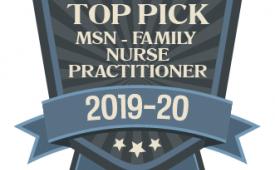 MSN-FNP Program Named 'Top Pick' by Nursing Review Website